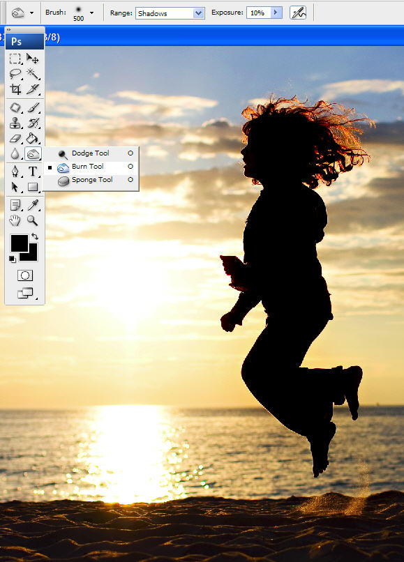 silhouette edit How to photograph and edit silhouettes {part 2}