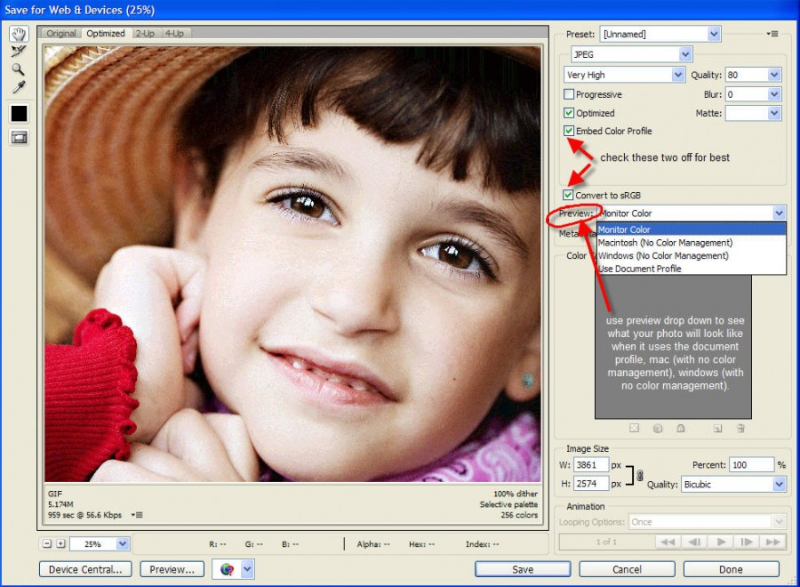 color management1 900x660 The Secrets to Matching Image Color on Blog/Website to Photoshop?