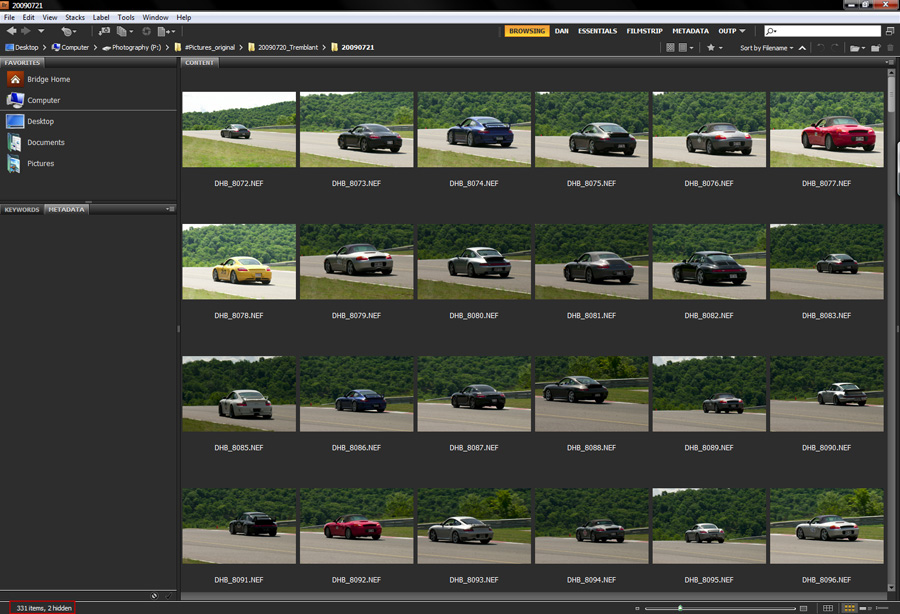 image002 Bridge Workflow: Editing Multiple Photos at Once