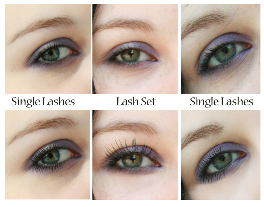 lash examples Applying Makeup in Photoshop using Brushes