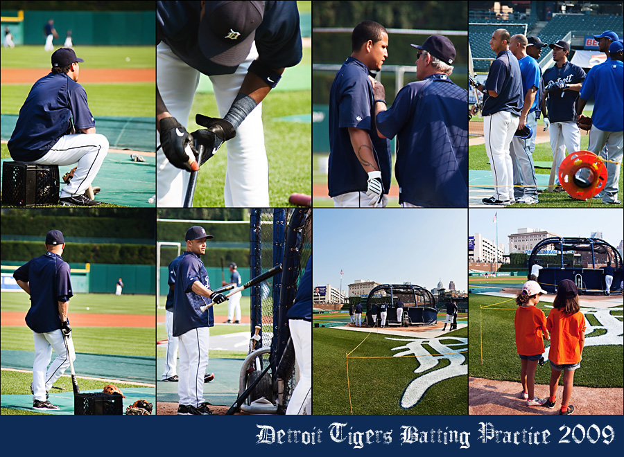 batting practice Snapshots: What Memories Are Made Of... A Really Fun Family Day