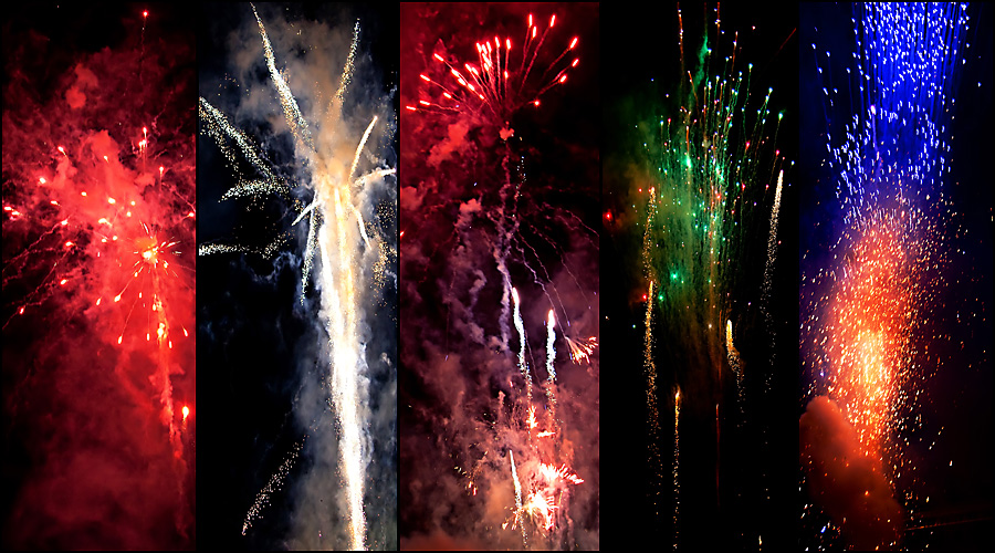 fireworks Snapshots: What Memories Are Made Of... A Really Fun Family Day
