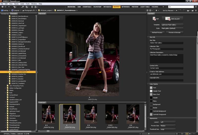 image004 Finishing Steps in Adobes Bridge   Preparing for Web