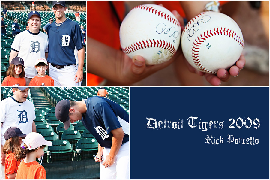 rick porcello2 Snapshots: What Memories Are Made Of... A Really Fun Family Day