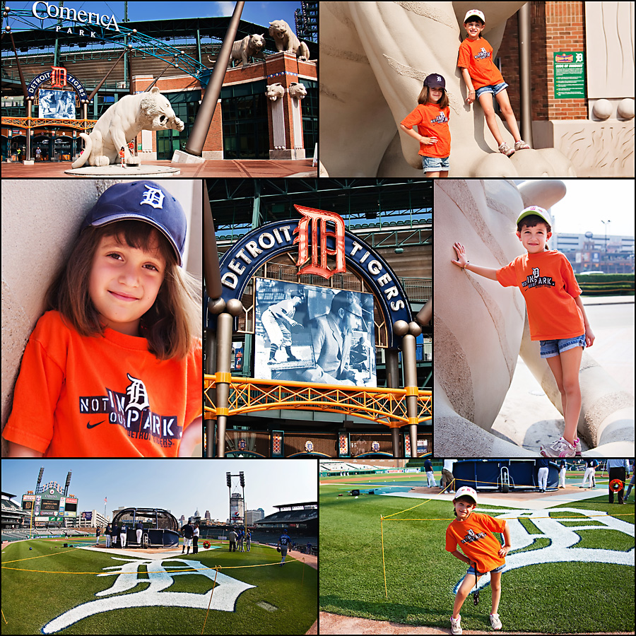 tigers game1 Snapshots: What Memories Are Made Of... A Really Fun Family Day
