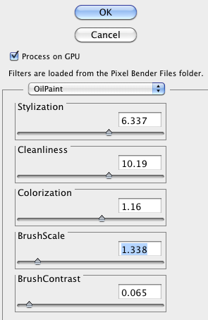 pixel bender for Photoshop CS5