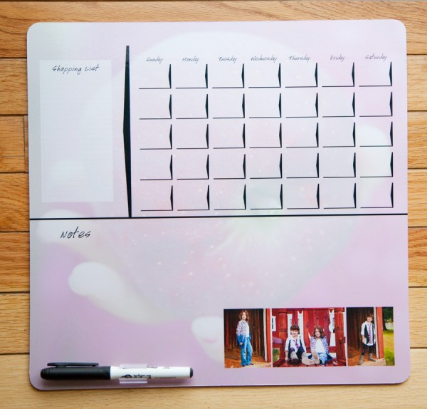 dry erase boards 600x574 Contest: Enter to Win Dry Erase Photo Boards from Color Inc.