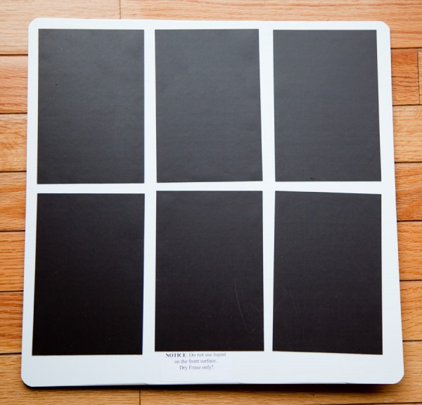 dry erase boards2 600x576 Contest: Enter to Win Dry Erase Photo Boards from Color Inc.