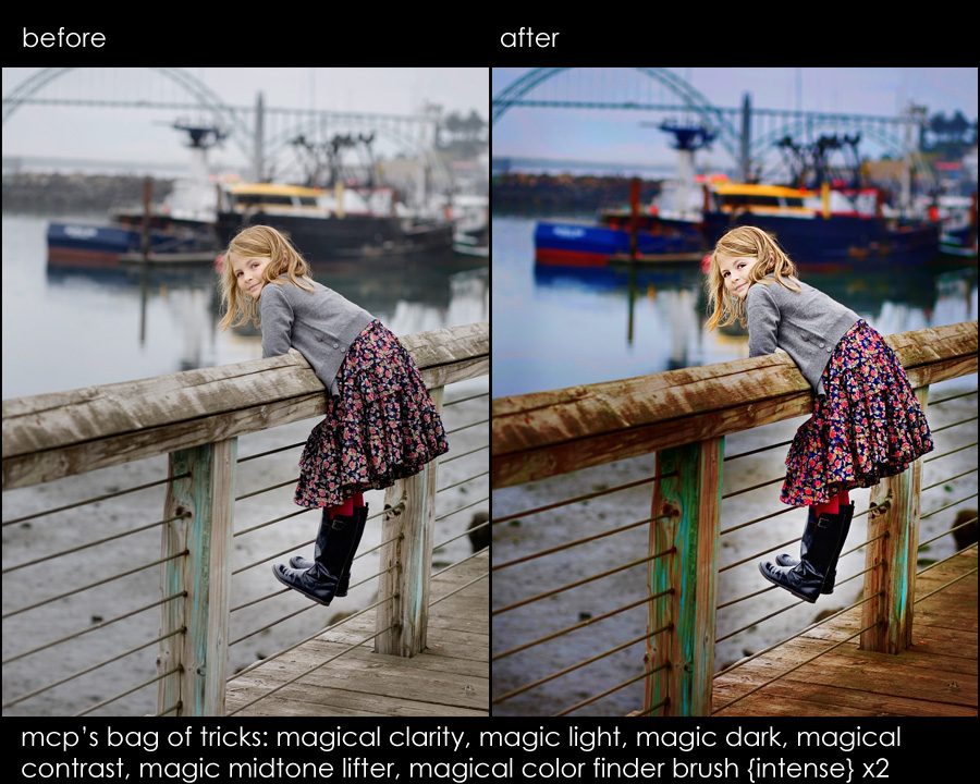 e miller ba2 NEW Photoshop Elements Retouching Actions: Fix Skin, Sky, Color, Exposure, and More