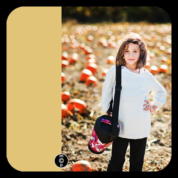 camera at pumpkin patch