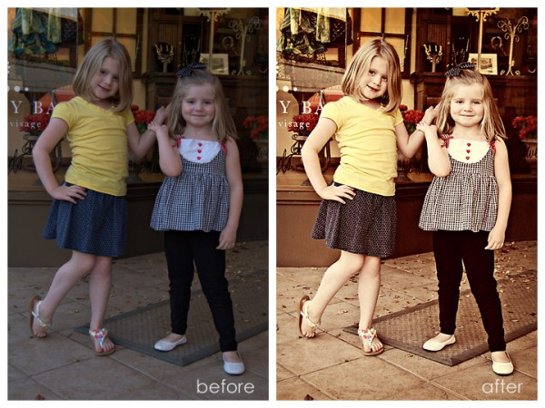 Vintage Photoshop Actions with a Twist of Contrast & Color Pop