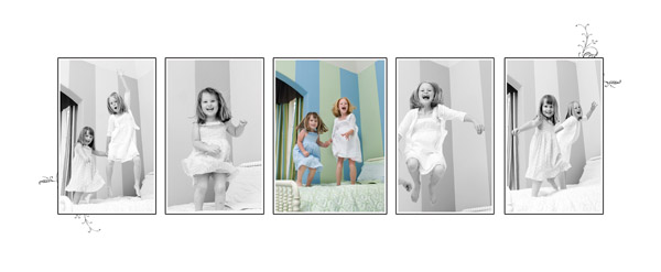 bed jumping1 Taking Great Childrens Portraits: Bring on the Fun