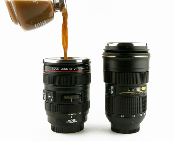 camera lens mug 43c1.0000001289365347 Top 20 Hottest Holiday Gift Ideas for Photographers for $50 or Less
