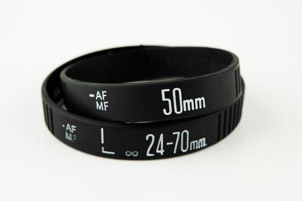 Lens focus ring bracelets