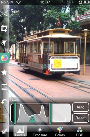 Photogene iphone app for photographers