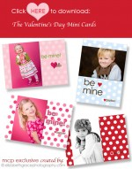 FREE Valentine's Day Mini Cards: Great Gift for Customers and Kids