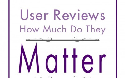 User Reviews: How Much Do They Matter