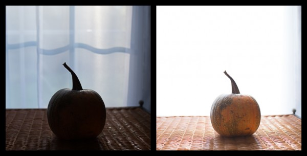 pumpkins 600x305 In Camera Metering Modes Demystified