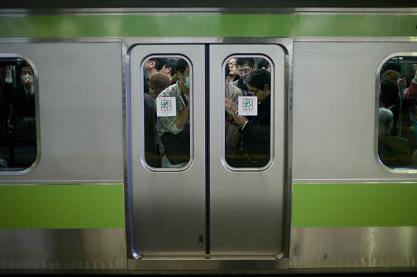 19 crowded trains Inside Tokyo: One Photographers View