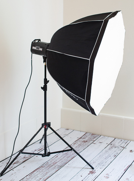 Softbox-on-a-flash