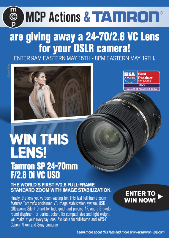 600x800 Tamron A007 MCP Sweeps 20131 Enter to Win a Tamron Lens 24 70 2.8 VC for Canon, Nikon, or Sony