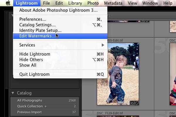 FBtut0011 How to Create a Watermark in Lightroom 3