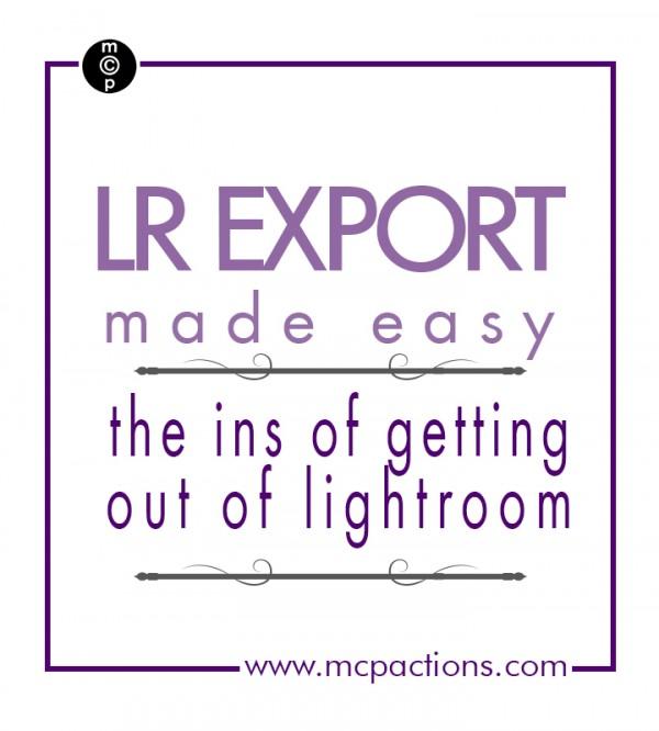 Lightroom-export
