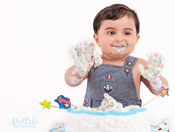 Cake smash Metteli Photography