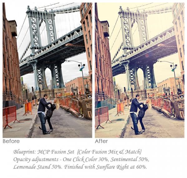 engagement photography session on a bridge