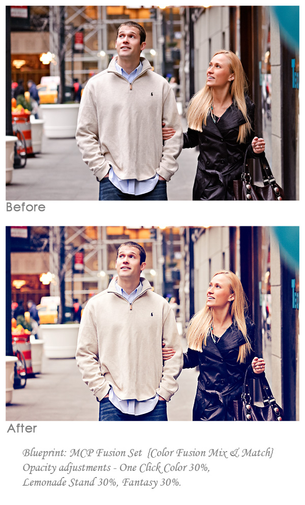cute couple on urban photography shoot