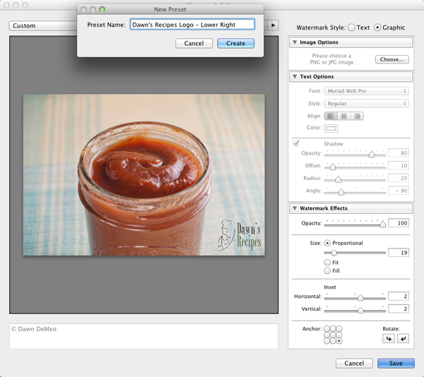 SS006 How to Create a Watermark in Lightroom 3