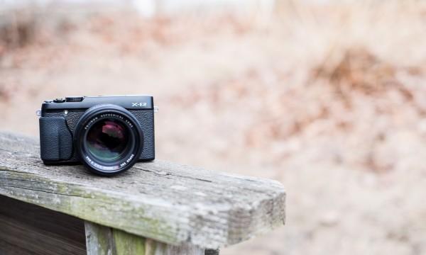 Fuji X-E2 mirrorless camera