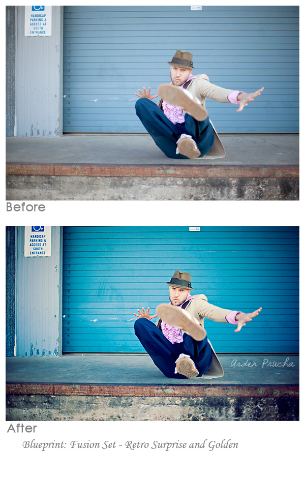 arden prucha Fusion Photoshop Actions: Before and After Edits from Customers