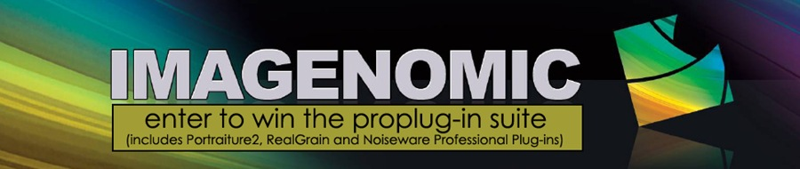bigbanner11 Win Portraiture, Noiseware, and Real Grain from Imagenomic