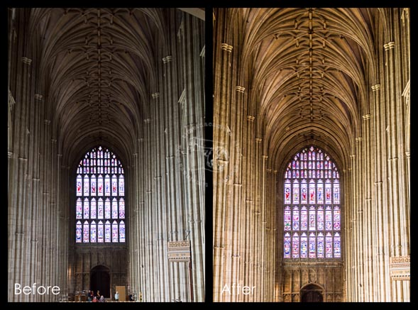 cantebury before and after