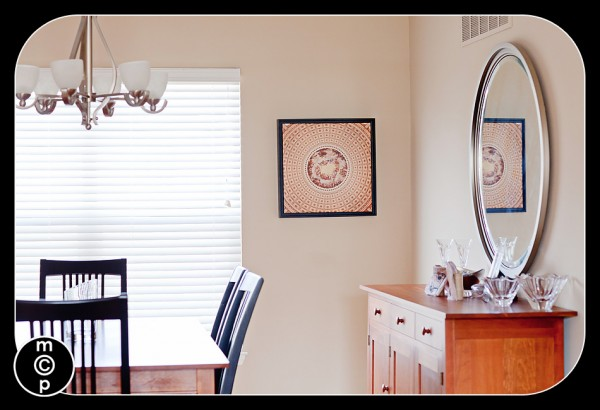 framed gallery wrap canvas by color inc