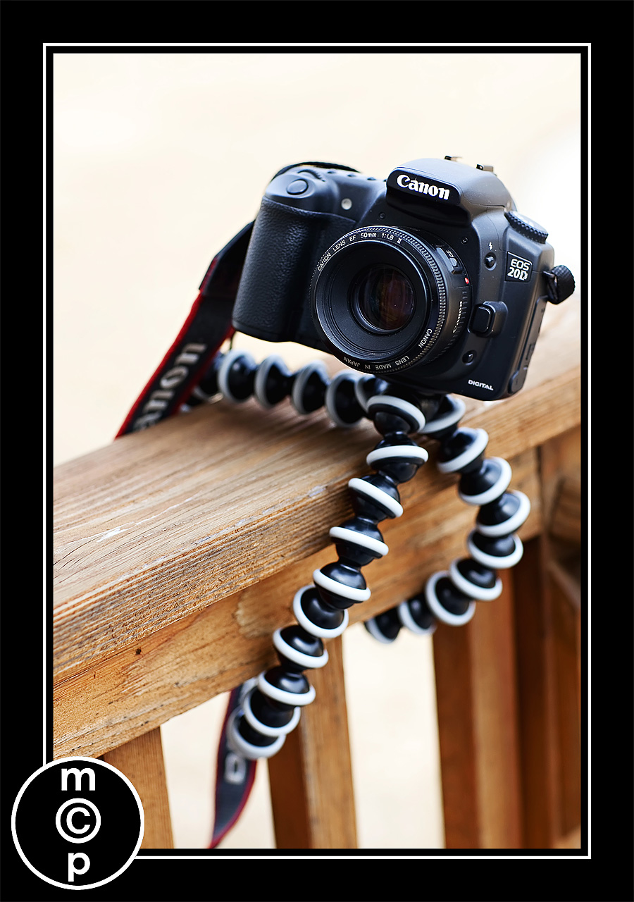 gorilla pod 1 Ever Wish Your Tripod was Small and Flexible?  Meet the Gorillapod (And Enter to Win One)