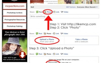How to Share Your Photos on the MCP Facebook Wall