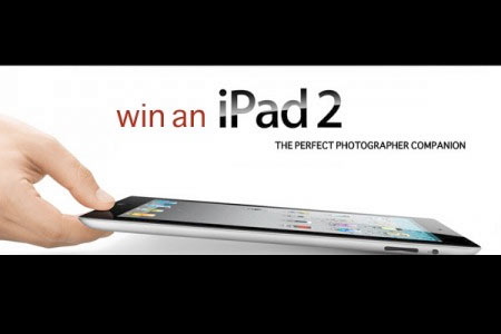 enter to win an iPad2 for photographers
