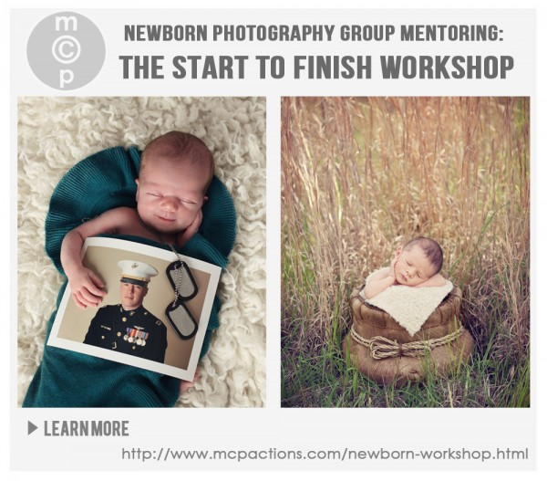 Newborn Photography Group Mentoring: The Start To Finish Workshop