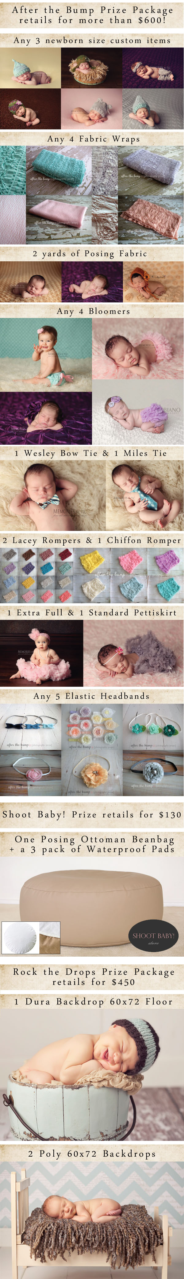 newborn giveaway Giveaway: The Ultimate Newborn Photographer Prop Prize Pack   $1,200 Value
