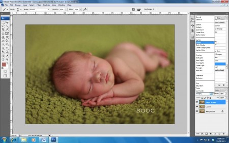 screen shot 2 450x281 How to Achieve Creamy Newborn Skin Using Photoshop