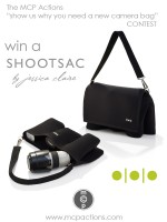 WIN A SHOOTSAC! Show us why you need a new camera bag ~ lens bag?