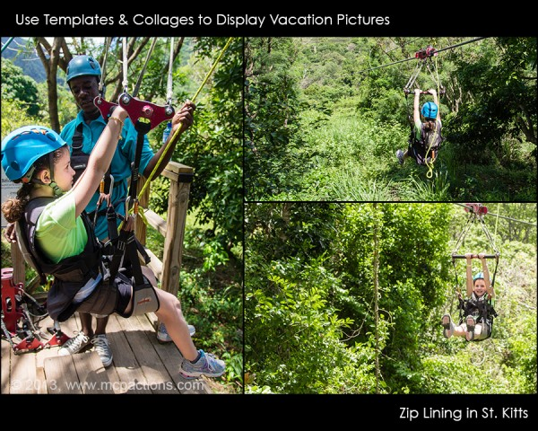 use collages for display 600x4801 How To Photograph and Quickly Edit Your Family Vacation Photos