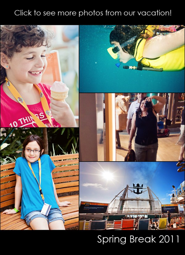 see our vacation pictures on allure of the seas