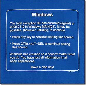 windows thumb1 Funny T shirts – in light of my recent computer situation…