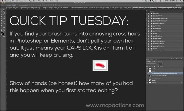 Quick Tip Tuesday cross hairs