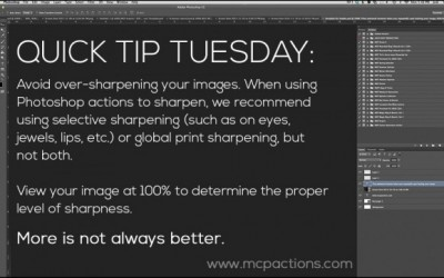 Quick Tip Tuesday: Print Sharpen in Photoshop, Elements, or Lightroom