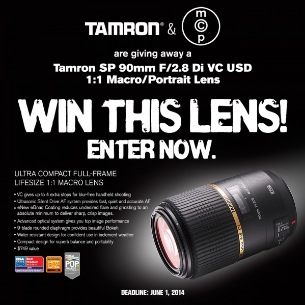 Tamron 90mm Macro Lens GIVEAWAY – Win a Sweet New Tamron Lens