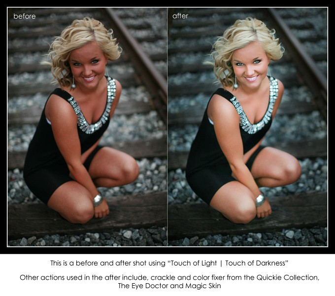 Free Photoshop Actions and Lightroom Presets by MCP Actions™